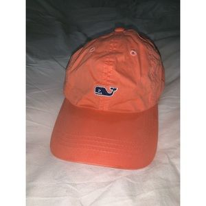Orange Vineyard Vines Hat